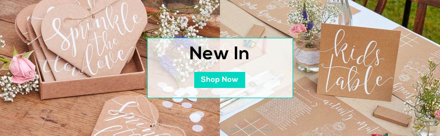 New In - Bunting, Kis, Balloons, Plates & More - Shop Now