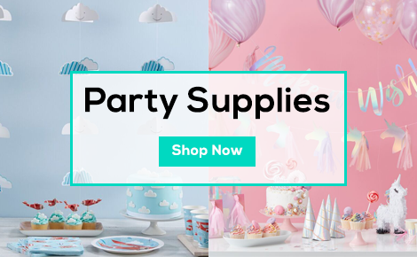 Party Supplies - Backgrops, Lanterns, Confetti & More - Shop Now
